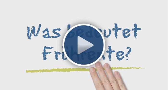 Frührente Erklär Video